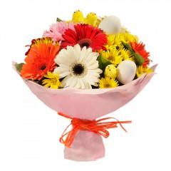 Karışık mevsim buketi Mevsimsel çiçek  Edirne çiçek mağazası , çiçekçi adresleri