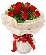 12 adet kırmızı gül buketi  Edirne çiçek gönderme sitemiz güvenlidir