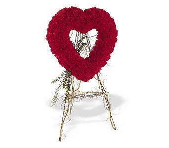 Edirne çiçek online çiçek siparişi  karanfillerden kalp pano