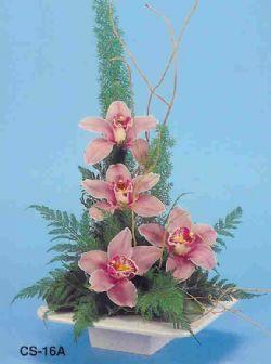 Edirne online çiçek gönderme sipariş  vazoda 4 adet orkide
