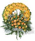 cenaze çiçegi celengi cenaze çelenk çiçek modeli  Edirne çiçekçiler