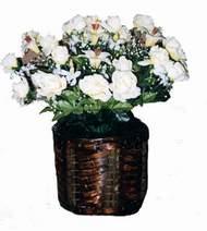 yapay karisik çiçek sepeti   Edirne yurtiçi ve yurtdışı çiçek siparişi