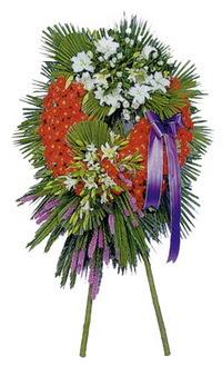 Edirne yurtiçi ve yurtdışı çiçek siparişi  cenaze çelengi