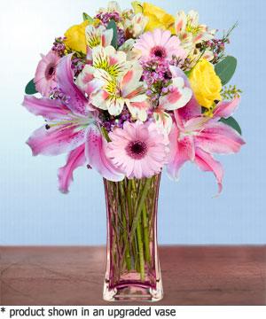 Anneme hediye karisik cam mevsim demeti  Edirne çiçek mağazası , çiçekçi adresleri