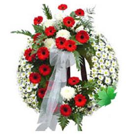 Cenaze çelengi cenaze çiçek modeli  Edirne çiçek yolla , çiçek gönder , çiçekçi