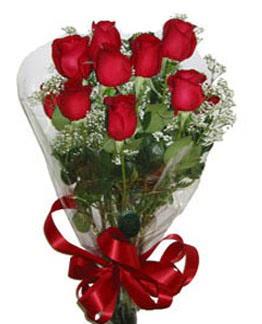 Çiçek sade gül buketi 7 güllü buket  Edirne güvenli kaliteli hızlı çiçek