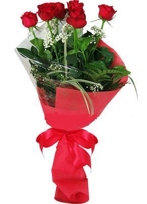 7 adet kirmizi gül buketi  Edirne çiçek siparişi sitesi