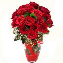 Edirne hediye sevgilime hediye çiçek   9 adet kirmizi gül