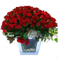 Edirne çiçek servisi , çiçekçi adresleri   101 adet kirmizi gül aranjmani