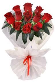 11 adet gül buketi  Edirne çiçek mağazası , çiçekçi adresleri  kirmizi gül