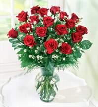 Edirne çiçek online çiçek siparişi  9 adet mika yada vazoda kirmizi güller