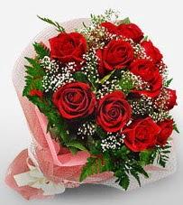 12 adet kırmızı güllerden kaliteli gül  Edirne kaliteli taze ve ucuz çiçekler