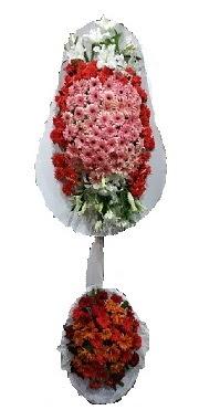 çift katlı düğün açılış sepeti  Edirne çiçek online çiçek siparişi