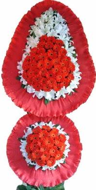 Edirne güvenli kaliteli hızlı çiçek  Çift katlı kaliteli düğün açılış sepeti