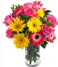 Vazoda Karışık mevsim çiçeği  Edirne anneler günü çiçek yolla
