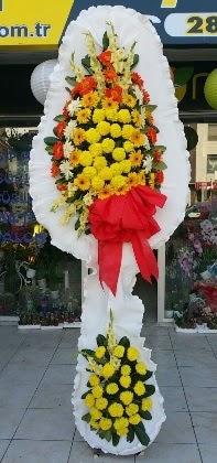 Çift katlı düğün nikah açılış çiçeği  Edirne ucuz çiçek gönder