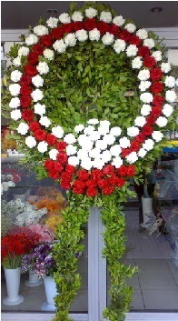 Cenaze çelenk çiçeği modeli  Edirne çiçek gönderme sitemiz güvenlidir