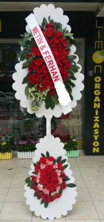 Çift katlı düğün nikah çiçeği modeli  Edirne hediye sevgilime hediye çiçek