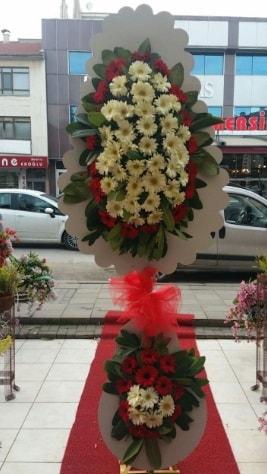 Çift katlı düğün açılış çiçeği  Edirne cicek , cicekci