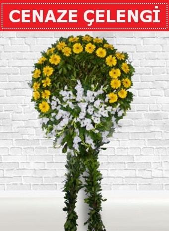 Cenaze Çelengi cenaze çiçeği  Edirne çiçekçiler
