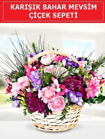 Karışık mevsim bahar çiçekleri  Edirne uluslararası çiçek gönderme