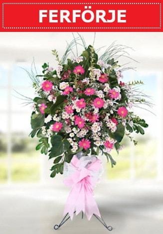 Ferförje düğün nikah açılış çiçeği  Edirne internetten çiçek siparişi